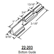 Shower Door Bottom Guide Strybuc Shower Door Bottom Guide 22 203
