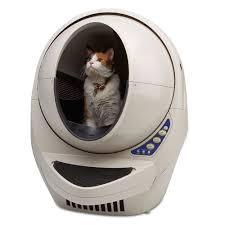 the best automatic cat litter box hammacher schlemmer