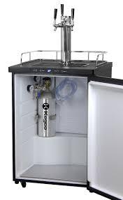Perlick Beer Faucet 650ss With Flow Control by Kegco K309ss 3 Triple Tap Keg Beer Dispensers Black Beer Keg