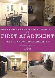 things you need for first apartment checklist for first apartment best home design ideas