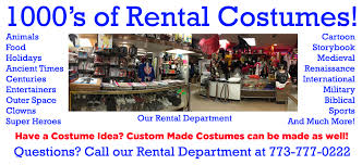 party rental stores chicago s costume store since 1965 costumes