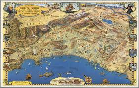 Map Of Orange County Ca Ride The Roads To Romance Along The Golden Coast And Thru The