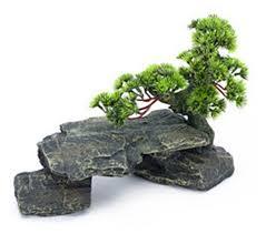 penn plax bonsai tree on rocks aquarium decor style 1 hayneedle