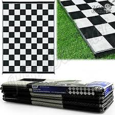 Checkered Area Rug Black And White Checkered Rug Ebay