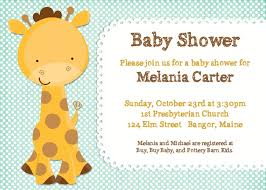baby shower giraffe animal baby shower invitations baby shower for parents