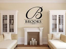 monogram wall decals removable monogram wall decals for living image of monogram wall decals for kids