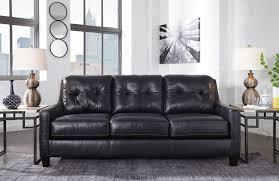 ashley o u0027kean sofa and love genuine leather dream rooms furniture
