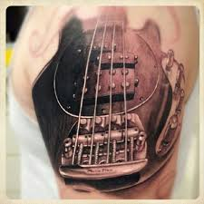 bass guitar tattoo guitar tattoos pinterest guitar tattoo