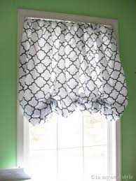 How To Make A No Sew Window Valance Balloon Valance Window Treatments Foter