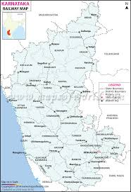 Blank Maharashtra Map by Railway Map