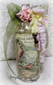 Shabby Cottage Home Decor by 520 Best Altered Bottles Tins And Boxes Images On Pinterest