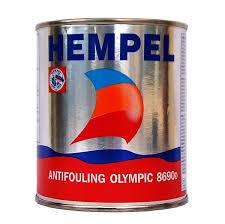 hempel olympic ablative antifouling paint 5 litre blue