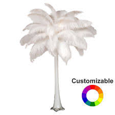 Wedding Feathers Centerpieces by Ostrich Feather Centerpieces Ebay