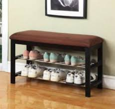 entryway bench with shoe rack shoe storage bench entryway