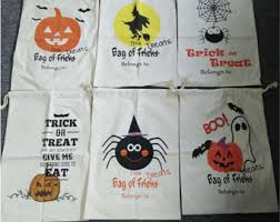 personalized trick or treat bags trick or treat bag etsy