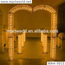 Pillars And Columns For Decorating 2017 New Led Crystal Decorative Pillar Columns For Weddings Aisle