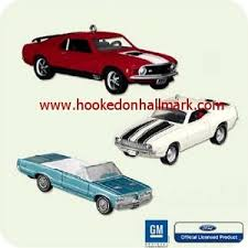 2005 cars hallmark club ornaments at hooked on ornaments