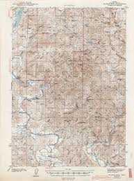 Oregon River Map by