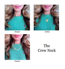 pairing necklaces with necklines the dress decoded
