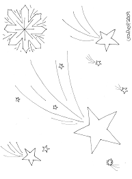 snow flake coloring pages free winter coloring page stars u0026 snowflake sky