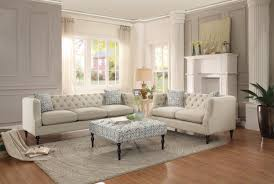Sectional Sofa And Ottoman Set by Sofas Center Tufted Leather Sectional Sofa With Crystalsclifton