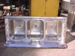 3 bay stainless steel sink 3 bay stainless steel sink used process equipment sales j l mercer