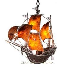 pirate ship light fixture pirate ship chandelier by clayton oxford designs lighting
