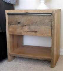 rustic bedside table twin reclaimed nightstand ideas u2013 laluz nyc