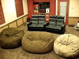 cuddlebags for the kids home theater furniture home theater
