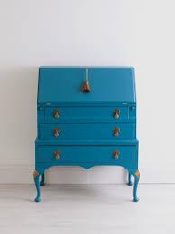 bureau turquoise writing desk bureau