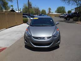 certified pre owned 2013 hyundai elantra gls 4dr car in mesa