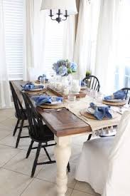 How To Decorate Dining Table Nothing Like A Big Hydrangea Bunch On The Table Top Beautiful