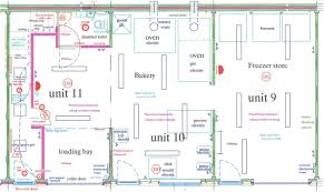 Floor Plan For Bakery Commercial Property For Sale In Institute Road Swanage Bh19