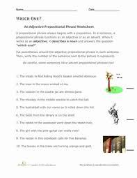 adjective phrase worksheets mreichert kids worksheets