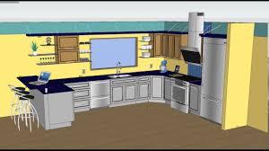 sketchup kitchen design home design ideas befabulousdaily us