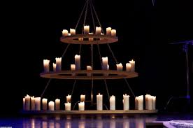 Rustic Candle Chandeliers Rustic Candle Chandelier Lighting Considering Wrought Iron
