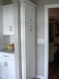 12 inch broom cabinet broom closet or other slim storage for the home pinterest