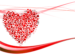 heart design for powerpoint hearts dots for powerpoint ppt backgrounds love red templates