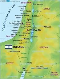 Map Of Syria And Israel by Map Of Israel Map In The Atlas Of The World World Atlas