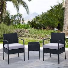 Wicker Patio Chairs Walmart Black Wicker Patio Furniture Walmart 28 Images 7 Black Wicker