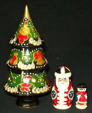 christmas nesting dolls ebay
