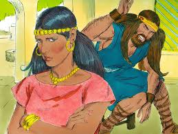 free bible images samson in a moment of weakness shares the