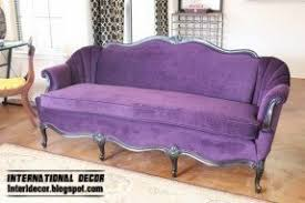 Living Room With Purple Sofa Purple Living Room Furniture Foter