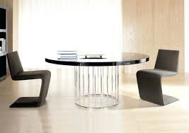unusual round dining tables designer round table alexwomack me