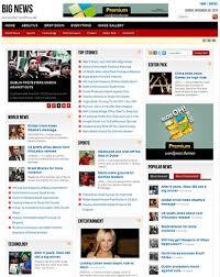 big news magazine wordpress theme blogger and wordpress template