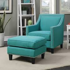 Oversized Accent Chair Chairs Teal Accent Chair Set Slipper With Ottoman Style Indoor