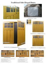 Garage Door Conversion To Patio Door Timber Side Hinged Doors The Garage Door Centre