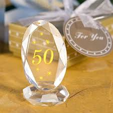 50th anniversary favors 50th anniversary plaque wedding favors