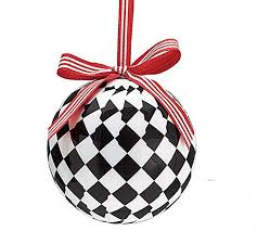 black white checkered tree 3