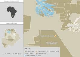 africa map kalahari kalahari plains c central kalahari reserve botswana